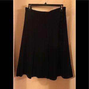 Dresses & Skirts - Vintage black knit a-line skirt